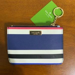 NWT Kate Spade Laurel Way Striped Wallet